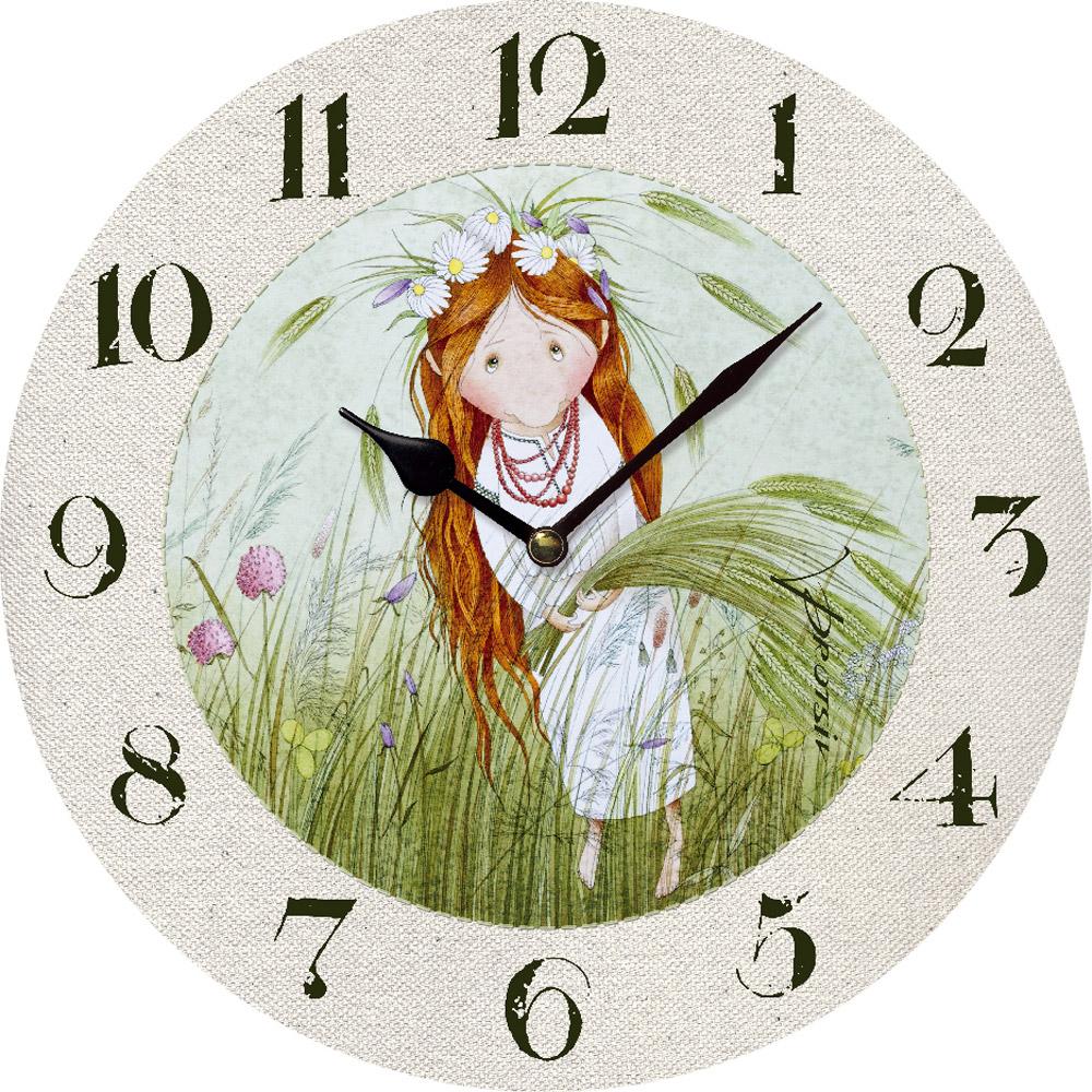 Часы настенные ЮТА Солнечное чудо 330мм МДФ PR-004