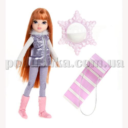 Кукла Moxie серии Зимняя сказка - Келлан со снегом и салазками