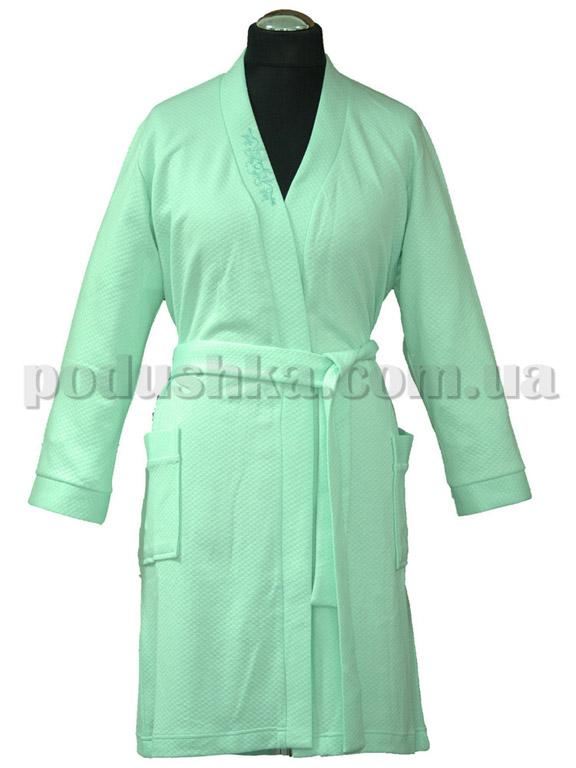 Халат женский короткий Marissabell Dream mint зеленый