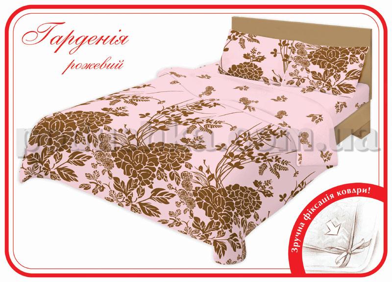 Постельное белье Home line Гардения розовый