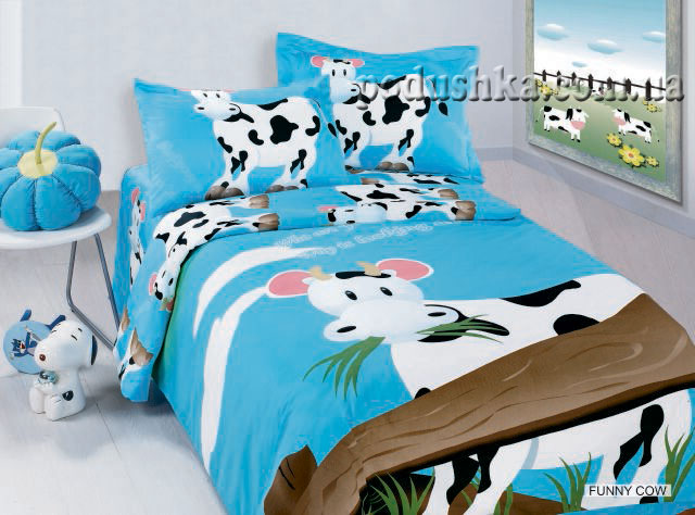 Комплект постели Funny cow, ARYA