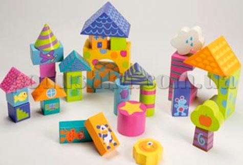 Развивающие кубики Boikido Строитель (30 шт)