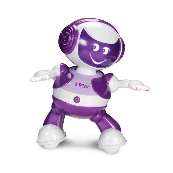 Интерактивный робот Tosy DiscoRobo Энди танцует укр озвучка фиолетовый TDV101-U 8930006492832