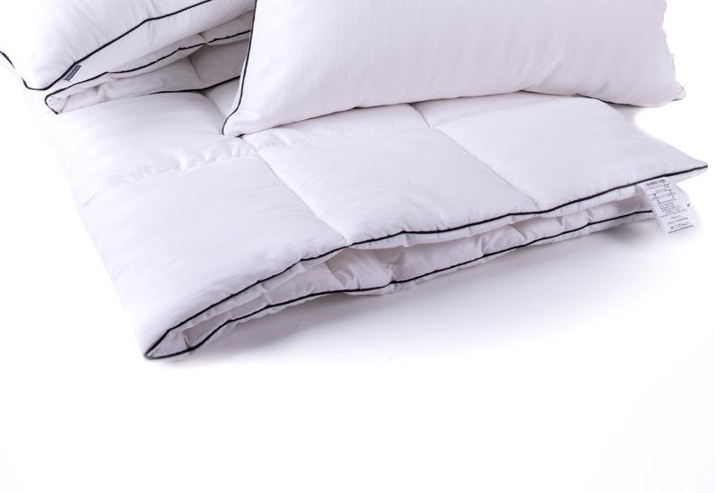 Одеяло антиаллергенное EcoSilk Royal Pearl Зима Чехол сатин+микро 009 зимнее 140х205 см вес 1600 г. MirSon
