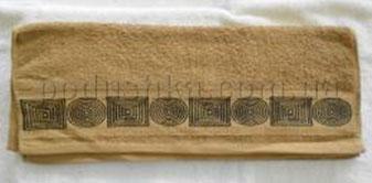 Полотенце махровое Belle-Textile LX299 темно-бежевое