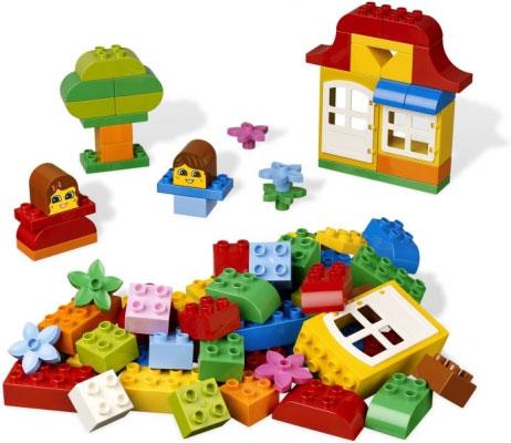 Весёлые кубики Lego Duplo