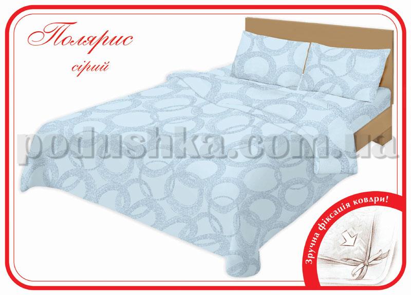 Постельное белье Home line Полярис серый