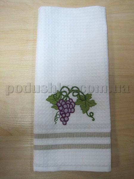 Полотенце кухонное вафельное Remzi Виноград