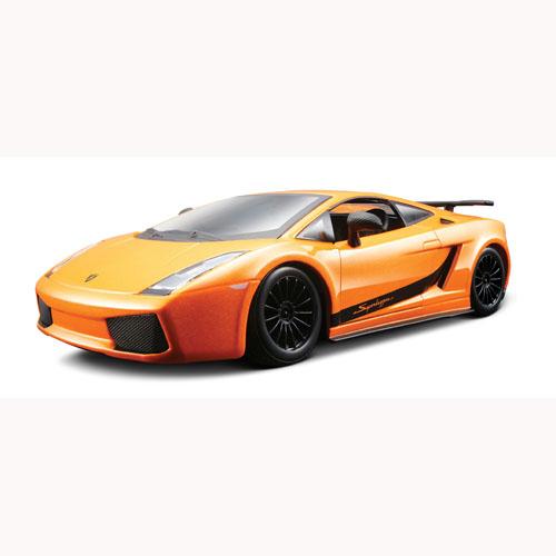 Автомодель - Lamborghini Gallardo Superleggera (2008) (ассорти желтый, оранжевый 1:24)