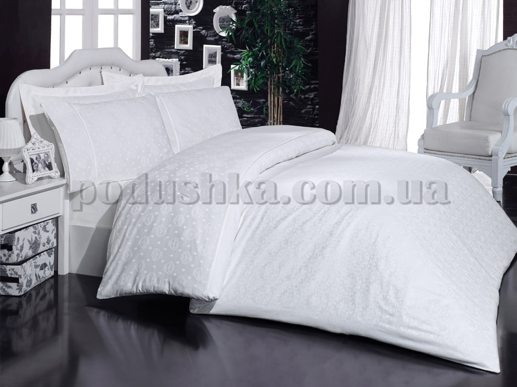 Постельное белье Mariposa Ottoman White V1
