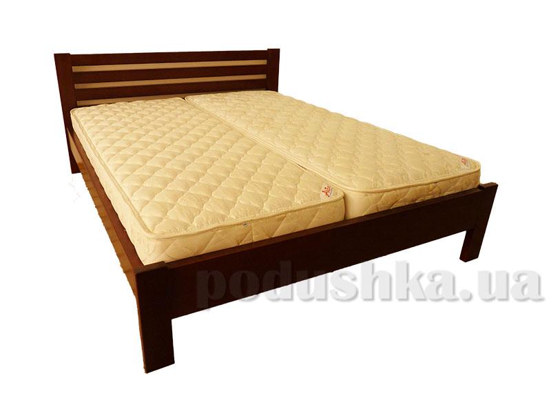 Кровать из массива ольхи Акант Жасмин плюс