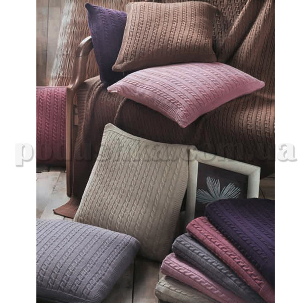 Декоративная подушка Eke home SIRMA 40х40 см пурпурный EKE HOME