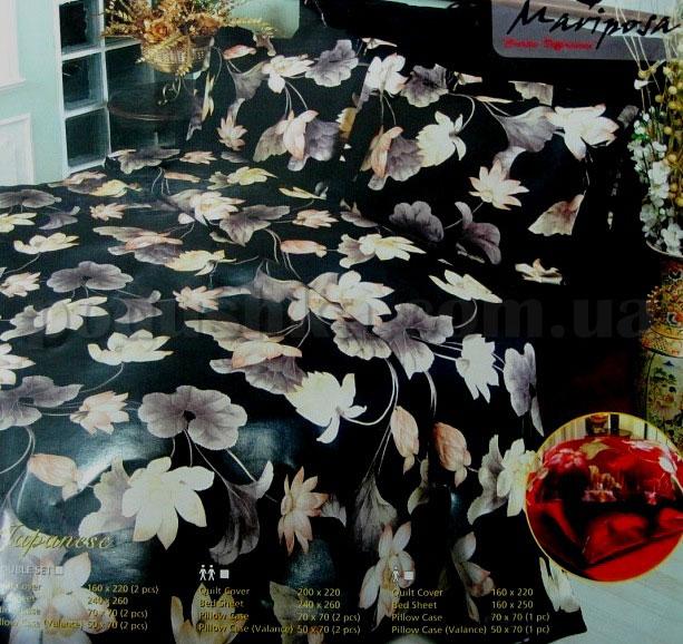 Постельное белье Mariposa Japanese black