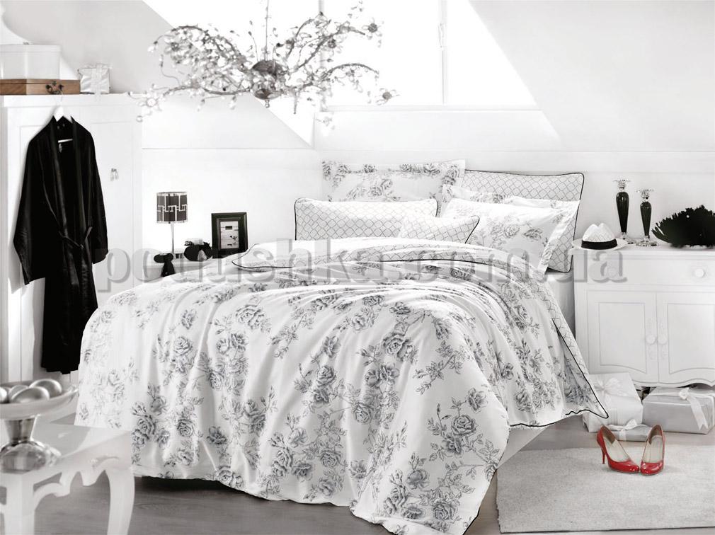 Постельное белье Issimo ROSE ART Двуспальный евро комплект  Issimo Home