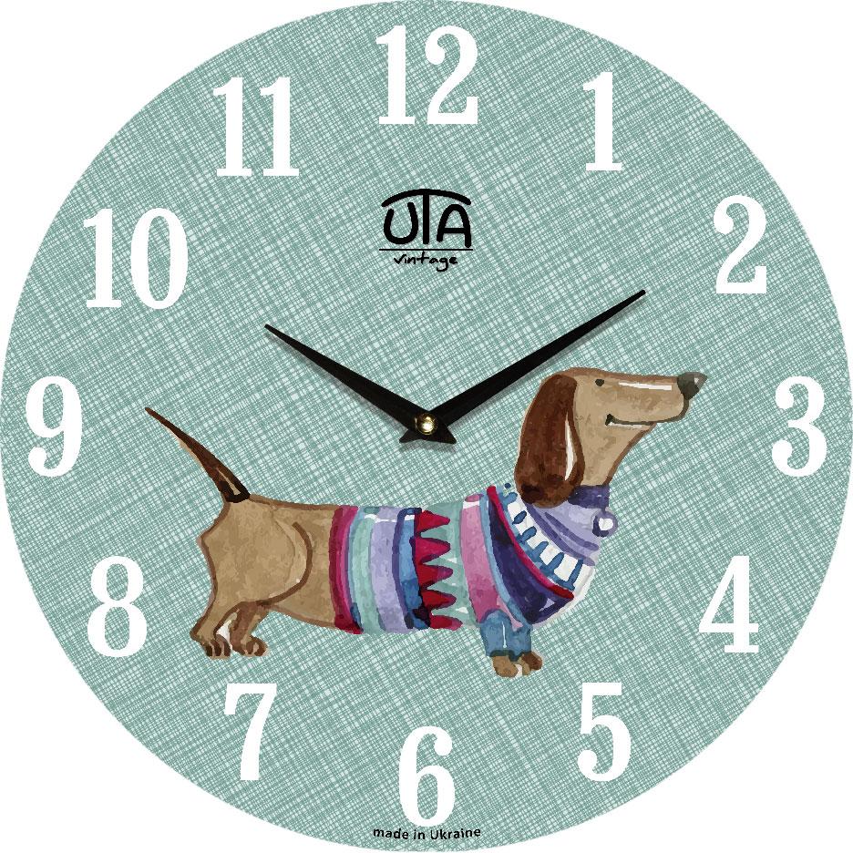 Часы настенные ЮТА Vintage 330x330x30мм 011 DS