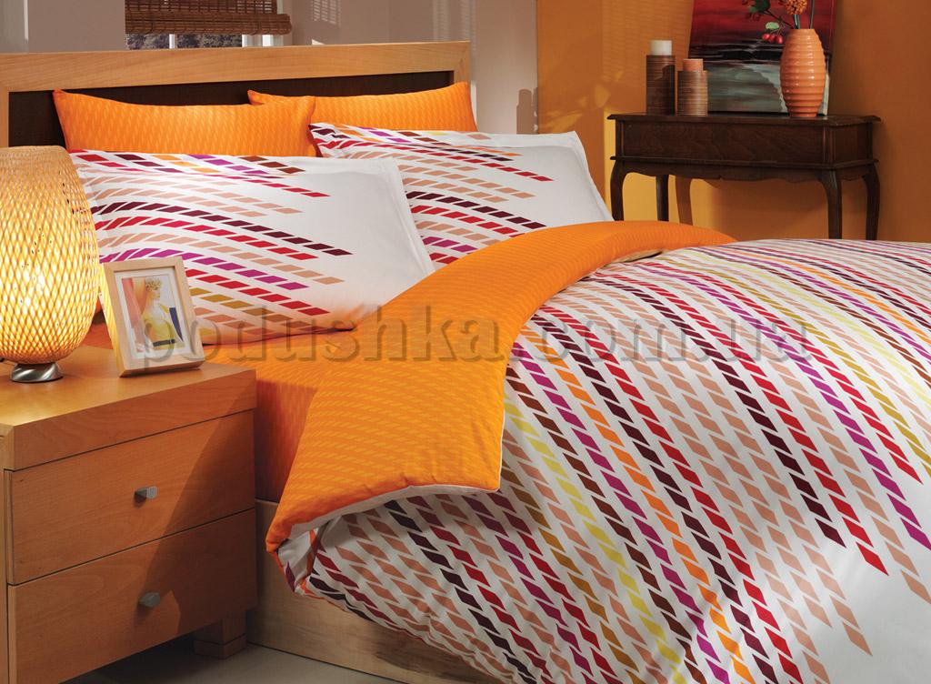Постельное белье Hobby Frame оранжевый