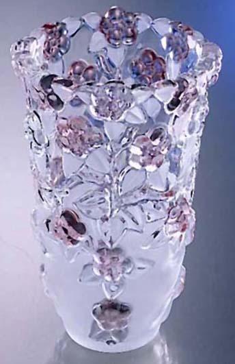 Ваза Walther-Glas CARMEN /200 мм розовая