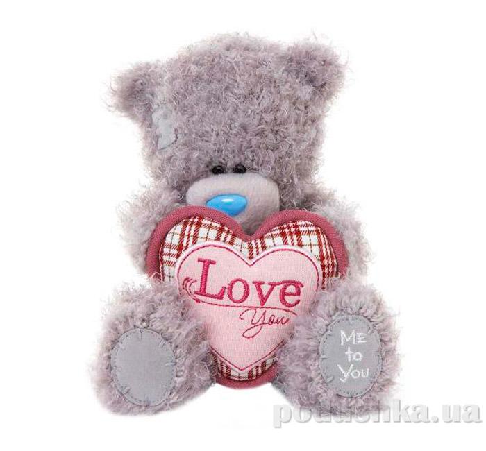 Carte blanche Мишка Teddy MTY держит сердце 18 см G01W3283