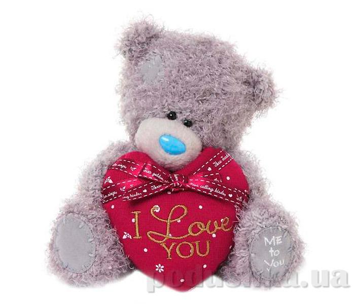 Carte blanche Мишка Teddy MTY с красным сердцем 18 см G01W3297
