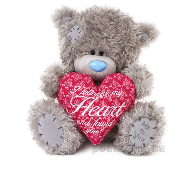 Carte blanche Мишка Teddy MTY с сердцем 25 см G01W3194