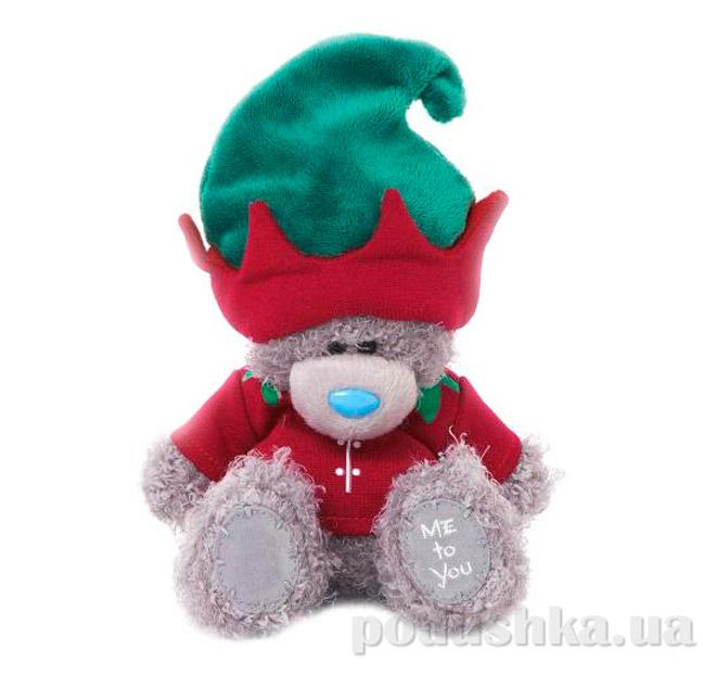 Carte blanche Мишка Teddy MTY в костюме эльфа 18 см G01W3333