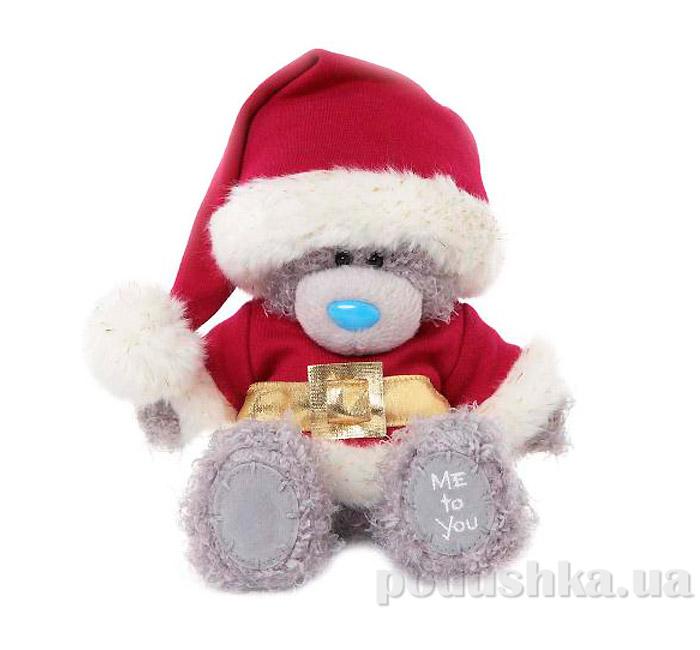 Carte blanche Мишка Teddy MTY в костюме Санты 18 см G01W3332