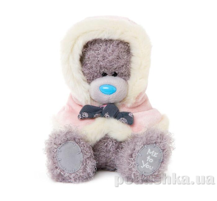 Carte blanche Мишка Teddy MTY в розовом болеро 18 см G01W3366