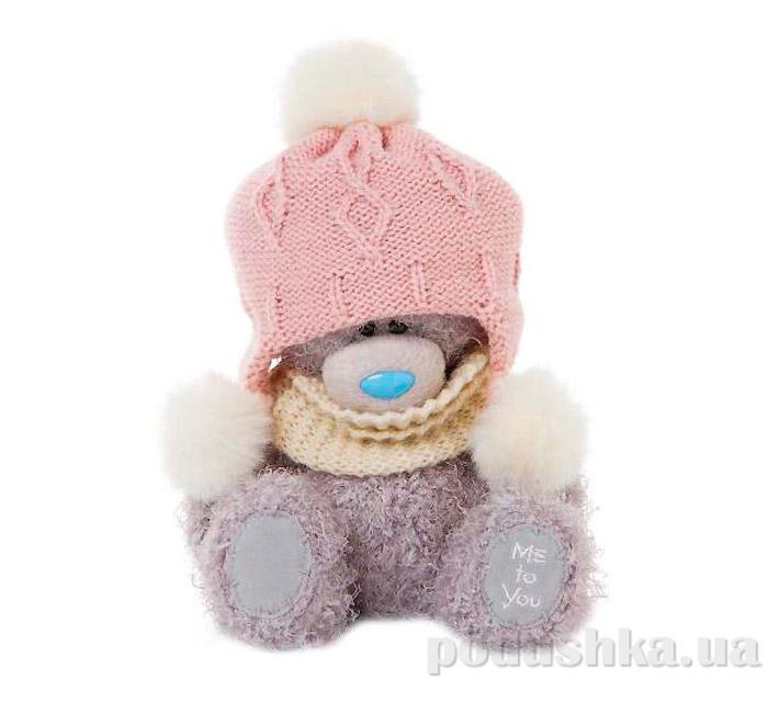 Carte blanche Мишка Teddy MTY в шапочке с балабончиками 18 см G01W3294