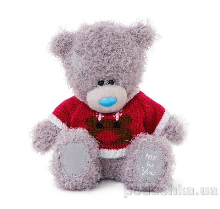 Carte blanche Мишка Teddy MTY в свитере с медведем 18 см G01W3330