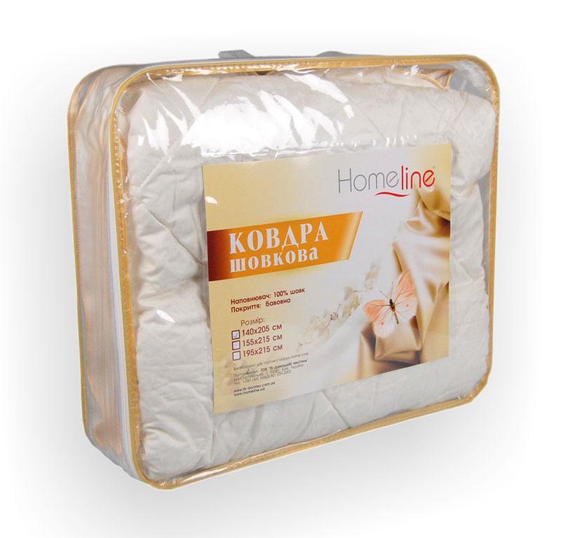 Одеяло шелковое Home Line 140х205 см  Home line