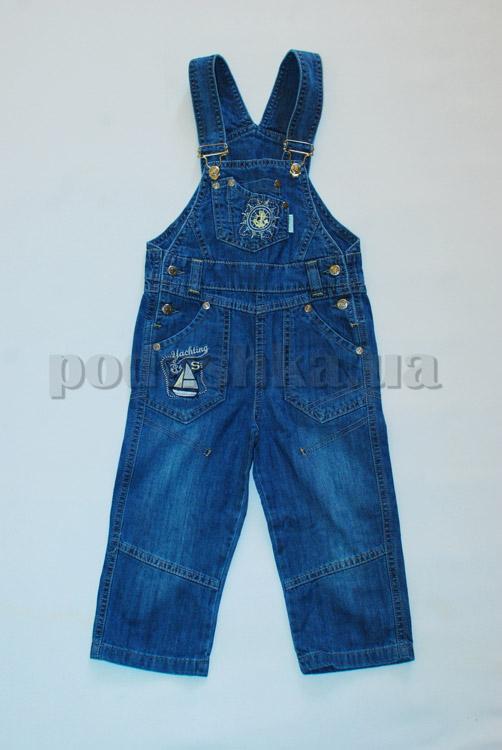 Детский полукомбинезон Бемби ПК72 джинс