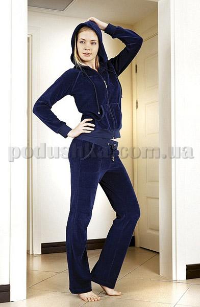 Домашний костюм женский велюровый с капюшоном Nusa NS-906 купить в Киеве,  домашняя одежда по выгодным ценам в каталоге товаров для дома интернет  магазина ... 7c58b5157ff