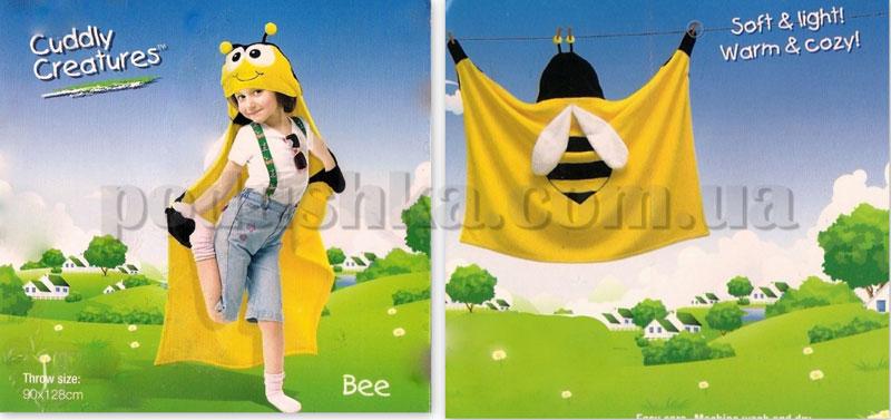 Плед-накидка детский Le Vele Bee