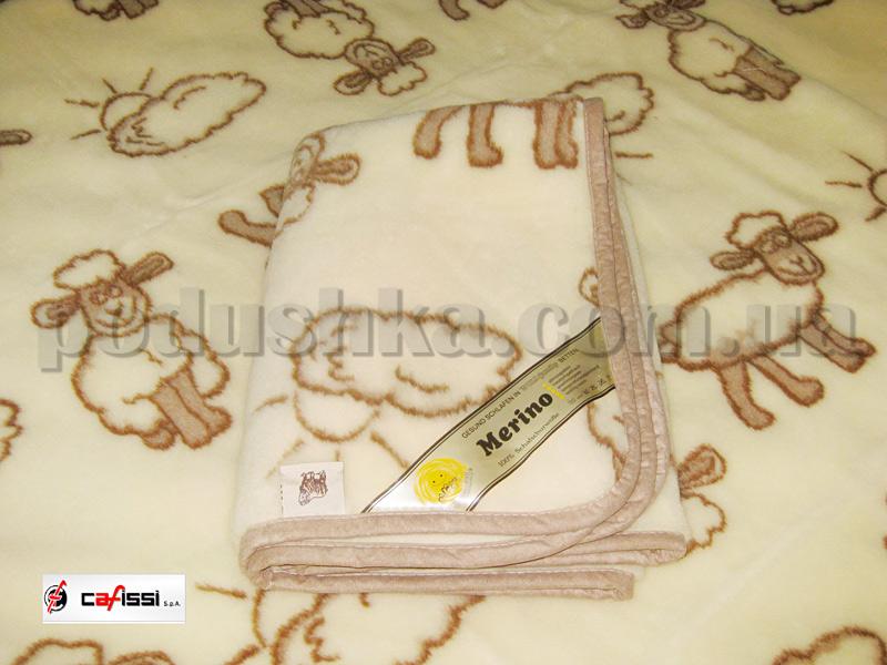 Одеяло шерстяное Cafissi Lindita Sole