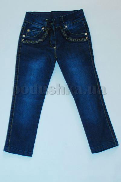Штаны для девочек Бемби ШР162 джинс