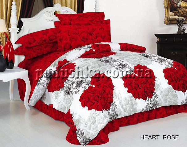 Комплект постели Heart rose, ARYA