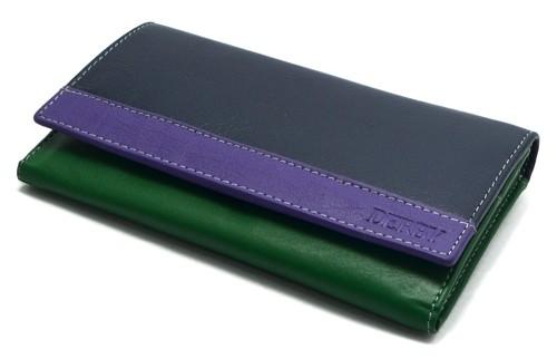 Трехцветное портмоне Derby 0450423