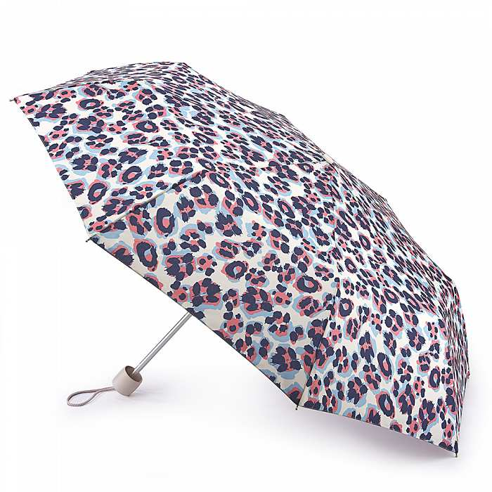 Женский зонт Fulton Minilite-2 L354 Acid Leopard леопард