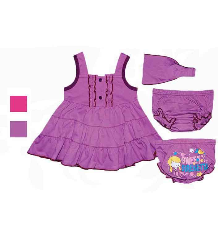 Комплект для девочек Фламинго 526