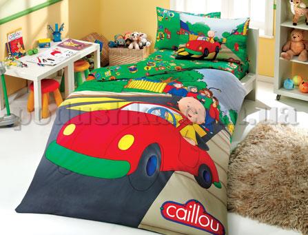 Постельное белье Hobby License Caillou Car