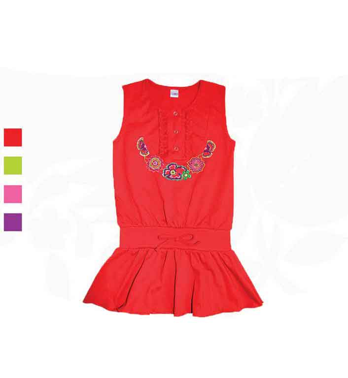Сарафан для девочек Фламинго 775