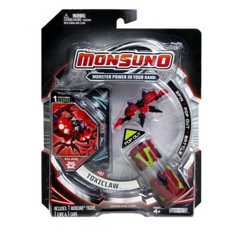 Стартовый набор Monsuno Eclipse Toxiclaw 1-Packs W3 14552-42906-MO