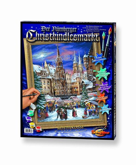 Художественный творческий набор Рождественская ярмарка в Нюрнберге