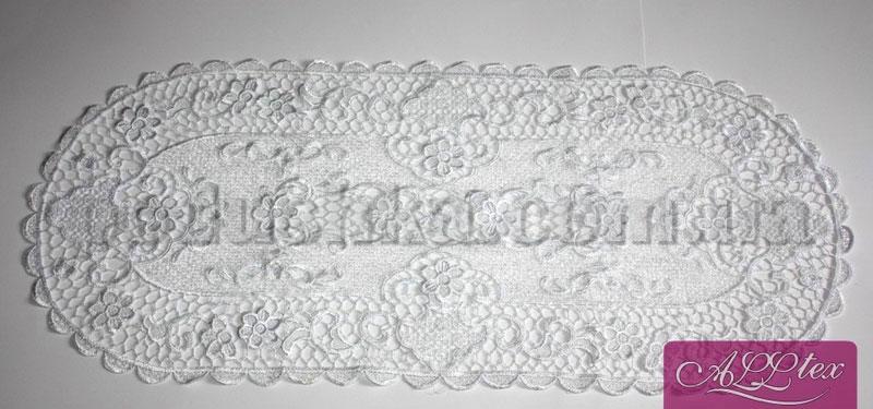 Салфетка вязанная Паутинка