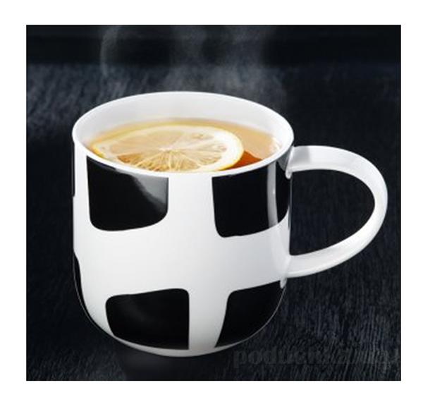 Чашка Coppa Asa Selection Black-White