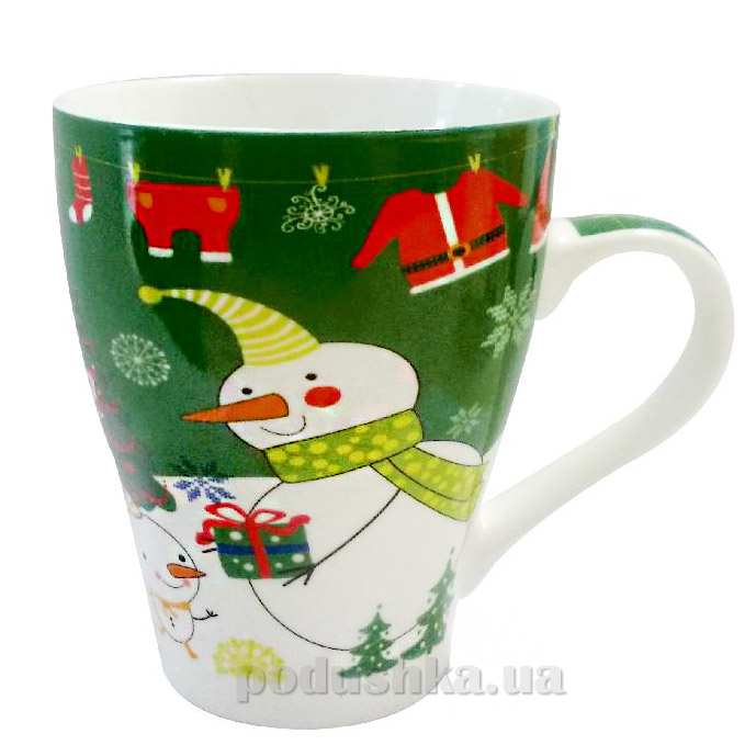 Чашка новогодняя подарочная Angel Gifts JZ1415ABCD