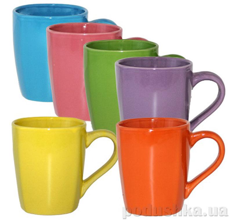 Чашка S&T Краски жизни 320 мл ST 040-01-55  цвет розовый S&T