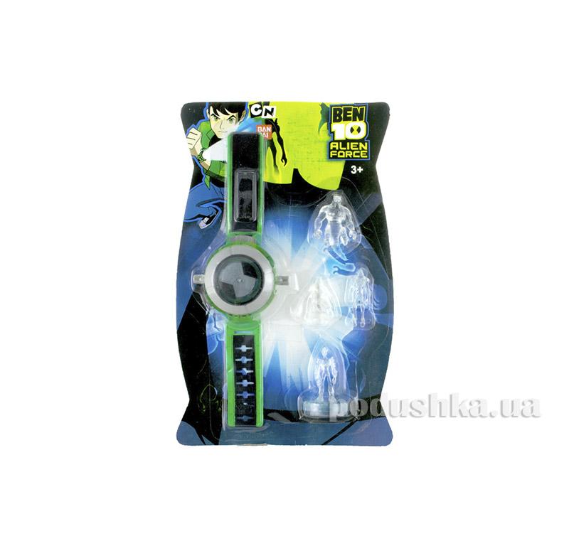 Часы c 4 фигурками Alien Force Ben 10 222-4