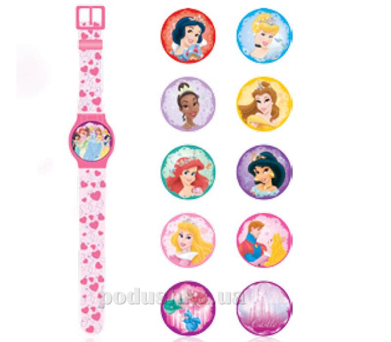 Часы Принцесса с набором сменных панелей для циферблата