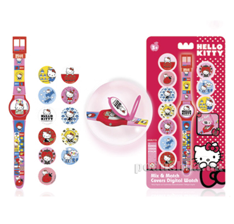 Часы для девочки Hello Kitty HKRJ15